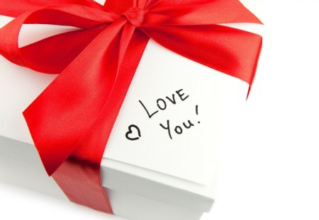 ℒ♥vℯ You - elegant, bow, romantic, gift, red, love
