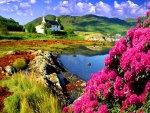 An idyllic scene