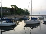 cramond harbour edinburgh