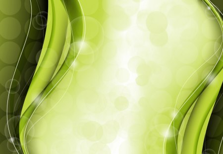 Green Waves Other Abstract Background Wallpapers On
