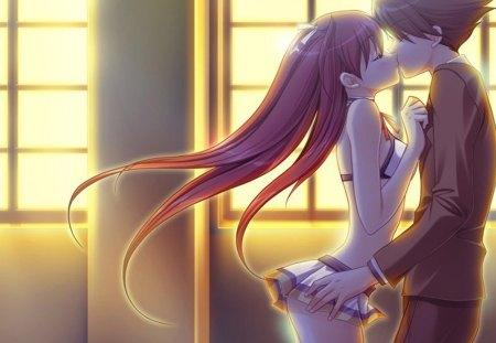 Kissing Scene 2 D