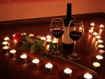 Our romantic evening my love