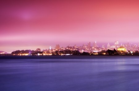 Gorgeous Cityscape In Pastel Colors Sky Nature Background Wallpapers On Desktop Nexus Image 1156013