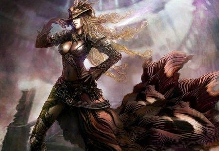 Fantasy Girl - fantasy, woman, girl, female, art, 3d
