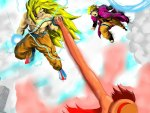 Goku VS Luffy & Naruto