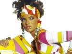 Linda Evangelista - colorful