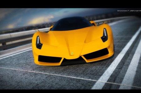 Ferrari F70 Concept - f70, concept, cars, ferrari