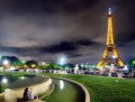 Beautiful Lights of the Eiffel Tower