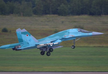 Russian Air Force Su 34
