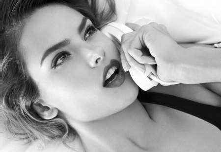 Black White Beauty Kate Upton Wallpapers And Images Desktop