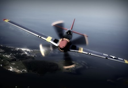P 51 Mustang Military Aircraft Background Wallpapers On Desktop