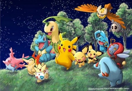 Group Pokemon - nice, fun, kewl, alot
