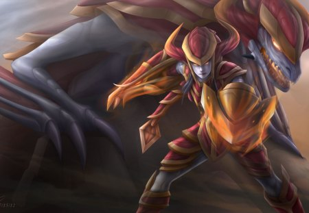 Blood Razor Dynasty Shyvana by Christian-Angel on DeviantArt