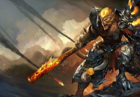 League Of Legends - Wukong - game, lol, wukong, league of legends