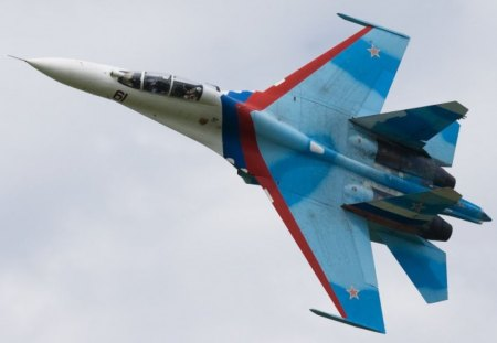 Sukhoi Su-27 'Flanker' - red air force, russian air force, soviet air force, sukhoi