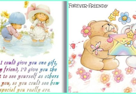 FOREVER FRIENDS - friendship, friends, forever, friend