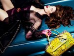 Stephanie Seymour for Louis Vuitton