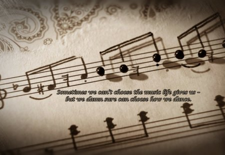 Sometimes - musical, notes, sometimes, words