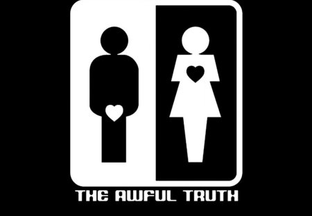The Awful Truth - other, abstract, sign, humor