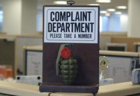 Complaint Department - other, abstract, office, humor