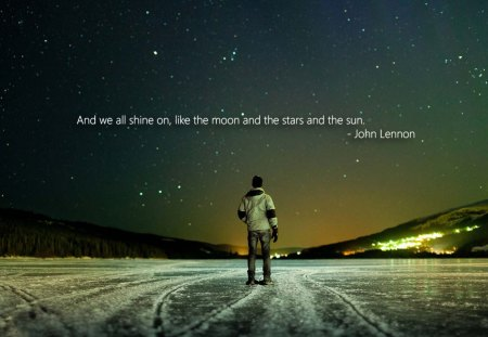 John Lennon Quote - words, john, lennon, quote