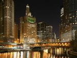 Chicago River Evening