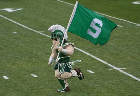 Go MSU - sparty, spartans, football, msu, mascot