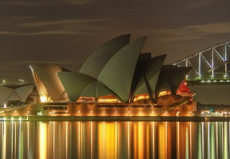 Sydney Australia's Opera House - digital, beautiful, abstract, art