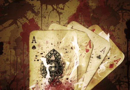 Ace - tazgfx, vintage, cards, retro, ace, blood, classy