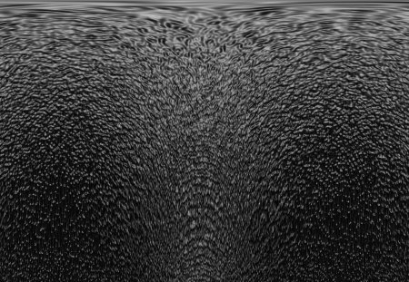 Silver Ripple - silver, art, wallpaper, background, black, cartoon