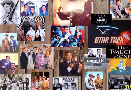 The 60's - stars, collage, television shows, sixties, memories