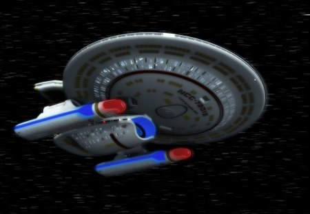 uss sutherland - stars, travelling, starship, lights