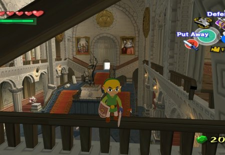 Dont fall Link !!!! - fall, stair, link, zelda