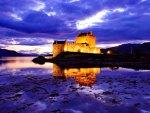 Scottish fortress