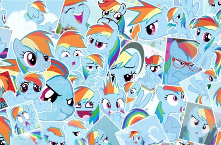 Rainbow Dash Fan pics - cute, cool, mlp, rainbow dash