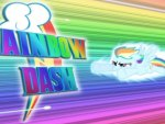 Rainbow Dash at the Speed of Light
