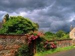 storm comes