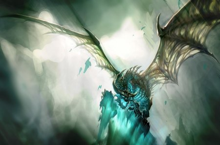 sindragosa - warcraft, world, games, artwork, dragons, video, of, sindragosa