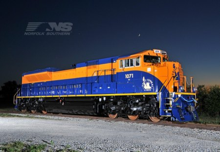 NS Heritage - train, sd70ace, emd, ns