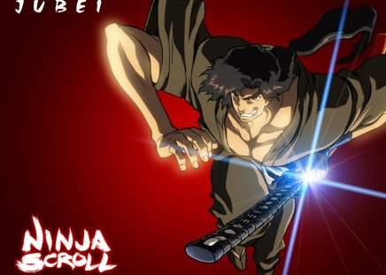 Jubei - anime, ninja scroll