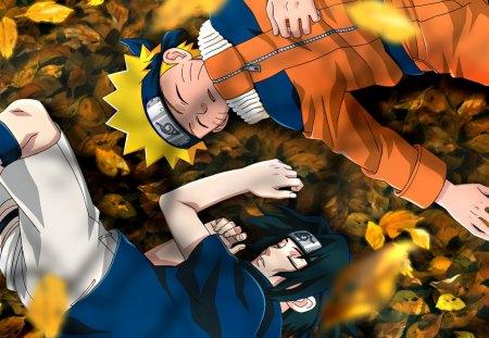 naruto and sasuke - anime, naruto