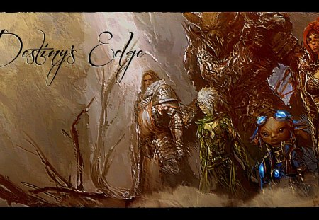 Destiny's Edge in relief - game, edge, rpg, quest, epic, destiny, guild, wars, 2