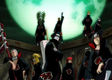 Akatsuki Road To Ninja Naruto Anime Background Wallpapers On Desktop Nexus Image 1170386