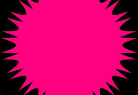 black n pink burst - labrano, teaser, pink, burst, sun, flower, gizzzi, black, mind, sunny