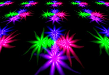 my fractaliz - flowers, tilt, blue, labrano, pink, tiles, flower, purple, rainbow, green, gizzzi, fractal, sunny