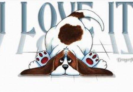 LOVE IT - puppy, sad, looking, dog