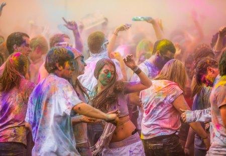 Holi - holi, color, festival, india