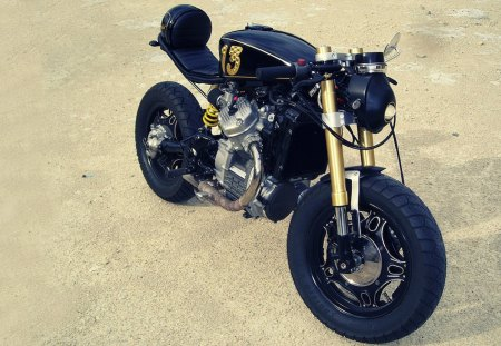 CX500 Cafe Racer - racer, 500, cx, honda, cafe
