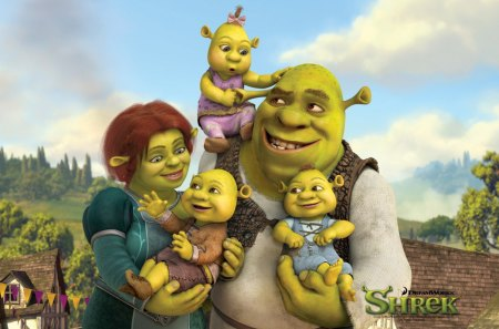 Shrek The 4th Movies Entertainment Background Wallpapers