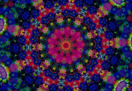 Festival of Colors - celebration, colorful, cheerful, blue, Bright, intricate pattern, red, shapes galore, neon green, smiling, happy, co11ie, deep pink